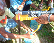 distribution eau potable disep indonesie